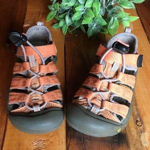 KEEN Kid's Seacamp Sandals - Orange